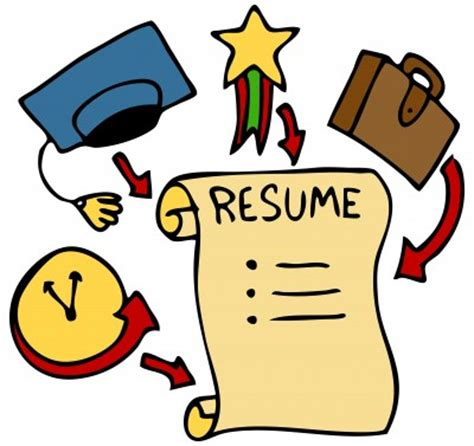 Proper way to write resume